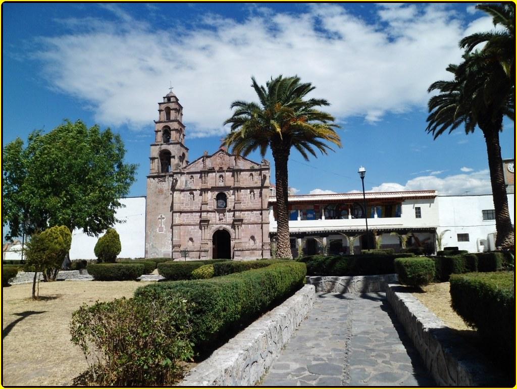Ex Convento y Parroquia San Jeronimo Aculco Estado de M