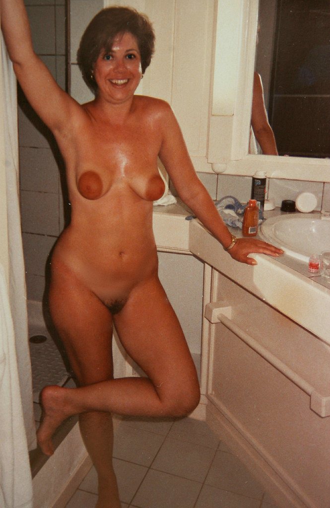 Mom my nude Swimming with