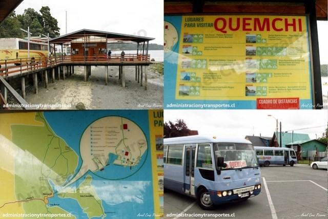 Terminal de Quemchi / Información turística