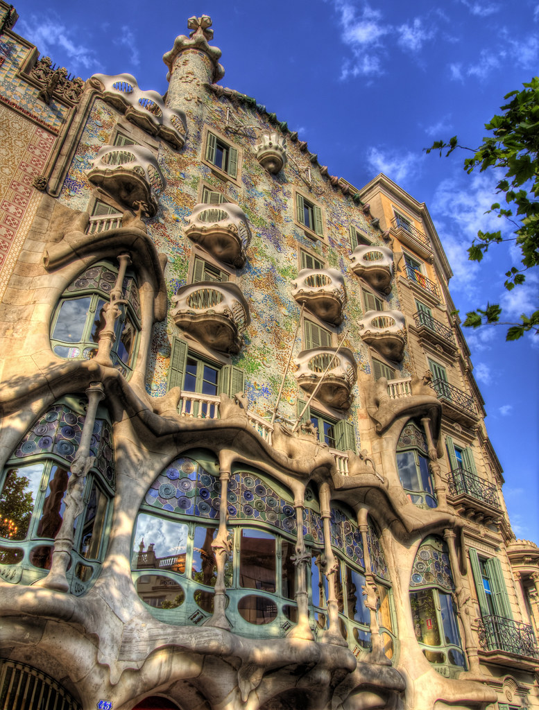 Casa Batllo in Barcelona Spain  A view of the amazing Gaud  Flickr