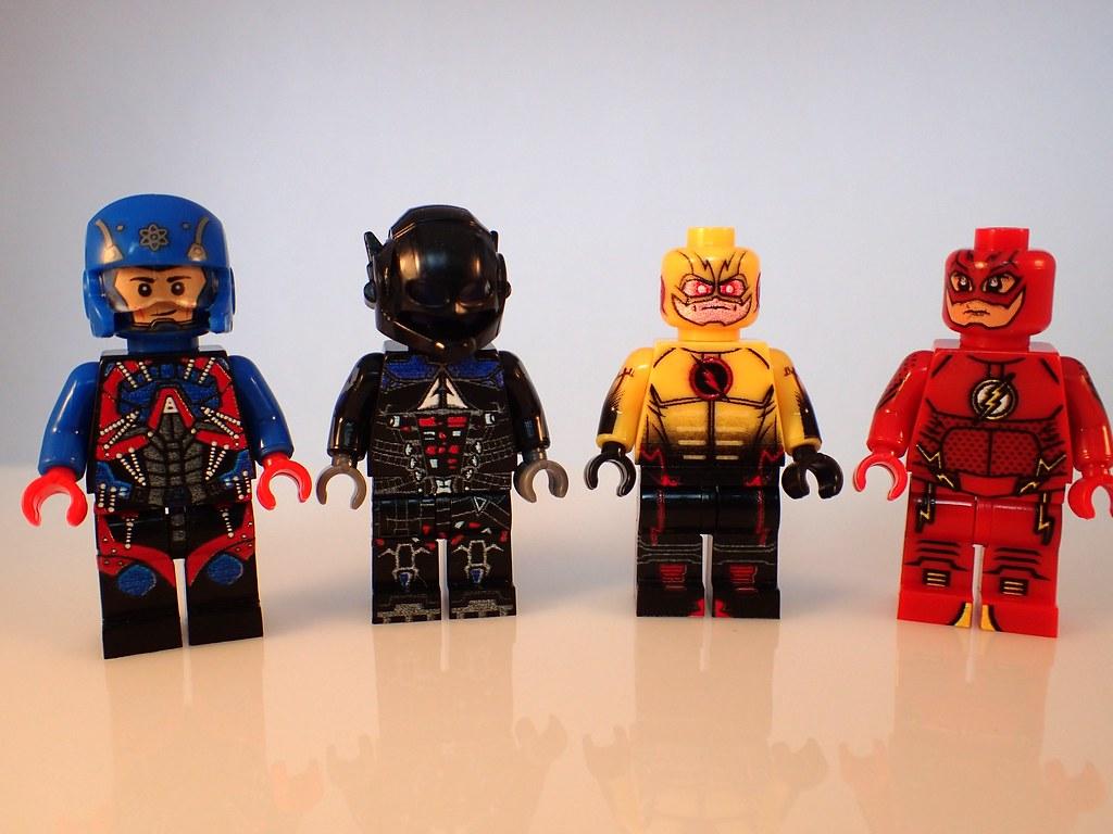 Bad digital print Xinh bootleg Lego  Flash  friends  Flickr