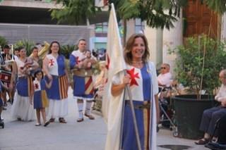 Pregón de inicio de las fiestas de Moros y Cristianos