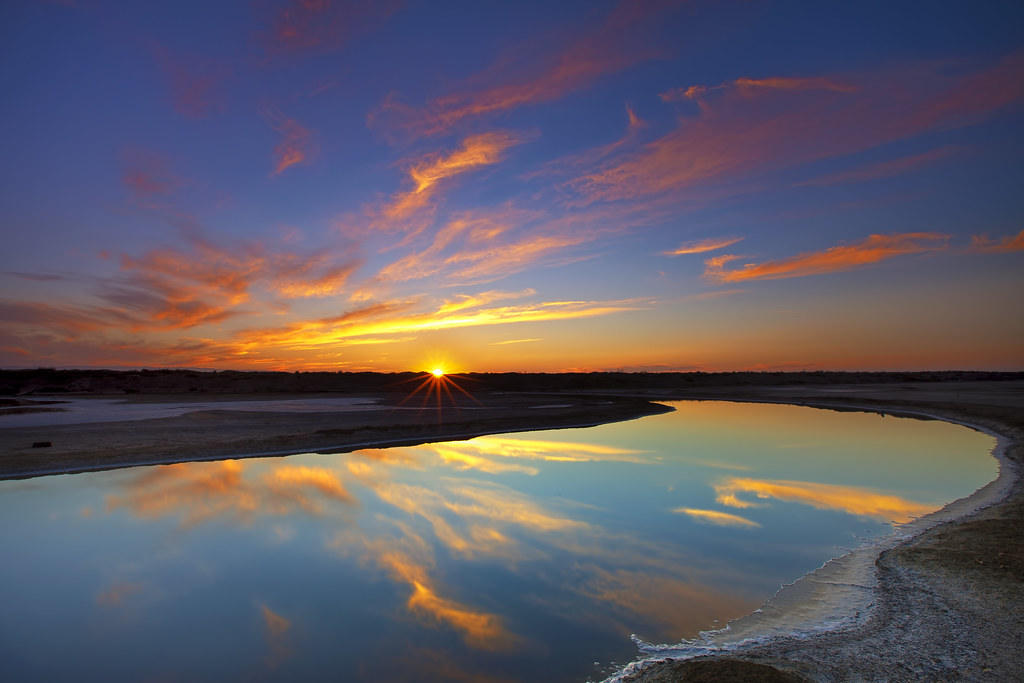 Christian Wallpaper Hd 3d Sunset Reflections In Alviso Last Thursday Was