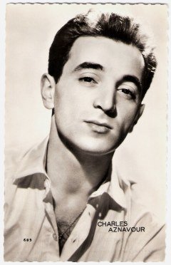 Image result for Young Charles Aznavour