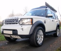 Discovery 4 tree sliders and roof rack