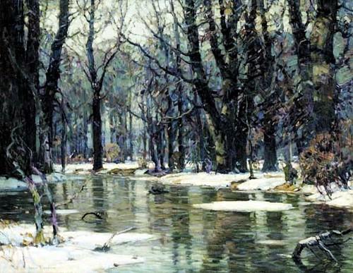 Carlson John Fabian 18751945  March Floods Christie