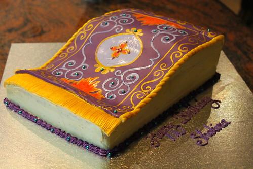 Magic Flying Cake Carpet