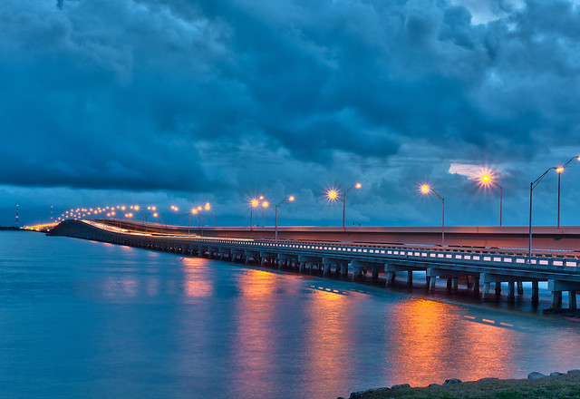 Gandy Bridge Reflections  Flickr  Photo Sharing
