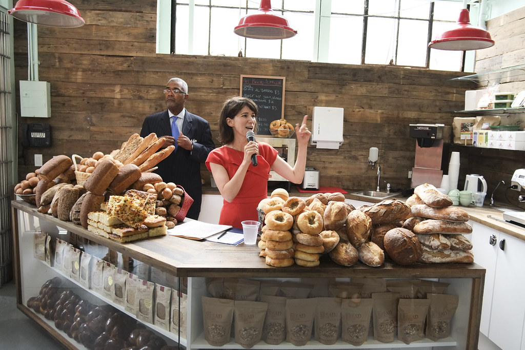 Jessamyn Rodriguez CEO and Founder of Hot Bread KitchenW