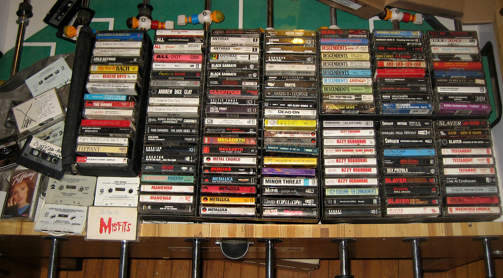 20120720  cassette collection  IMG_4634  Clint got his
