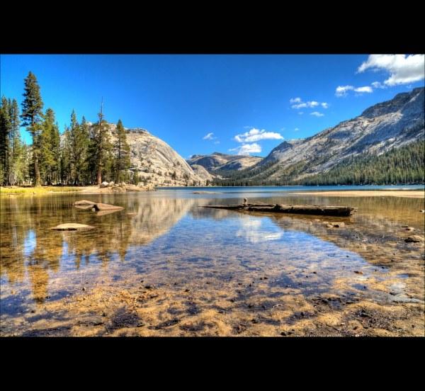 Tenaya Lake Yosemite National Park California Hdr -2 0