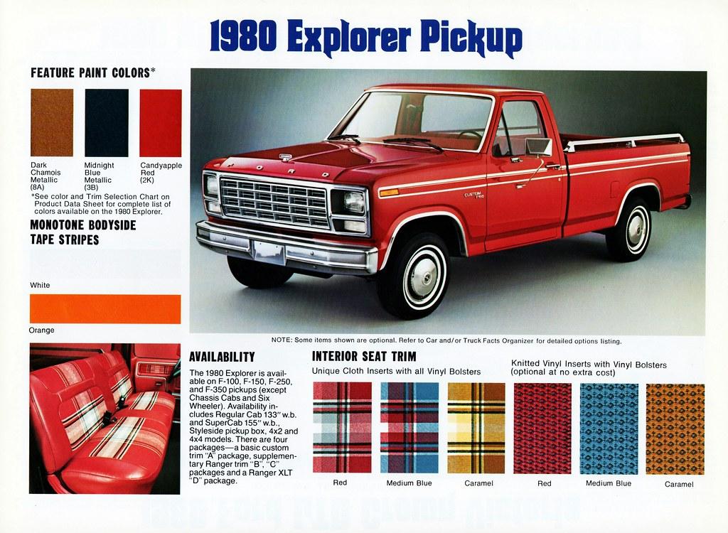 1980 Ford F 150 Explorer