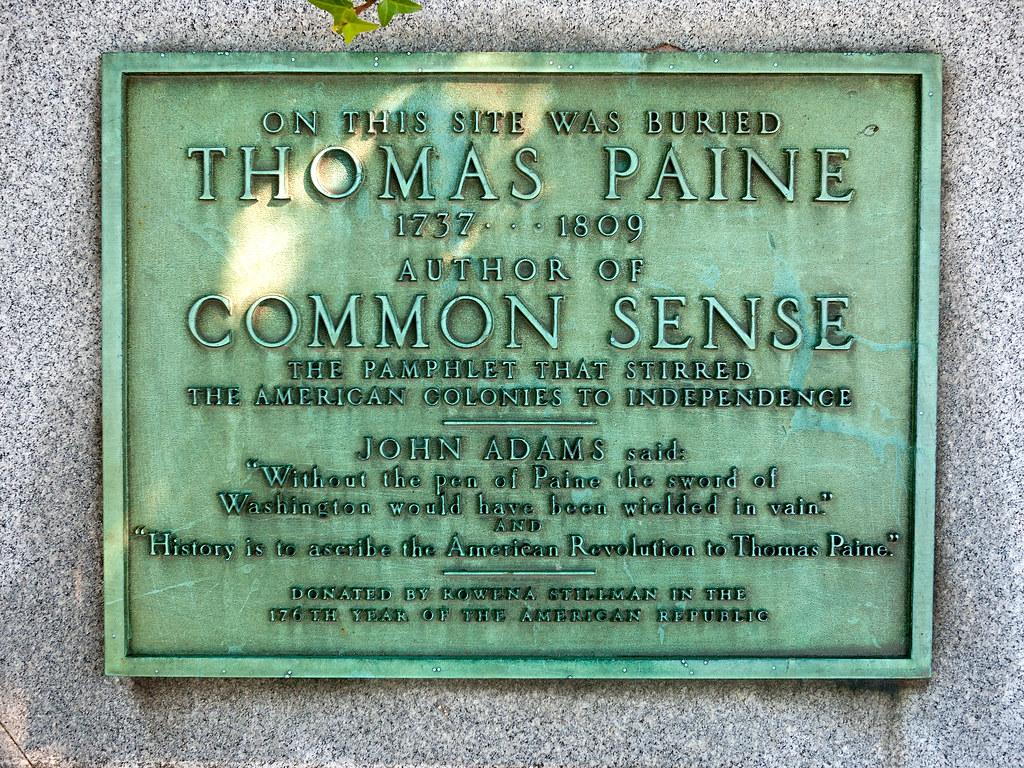 Thomas Paine Burial Site