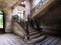 fancy abandoned staircase | Flickr - Photo Sharing!