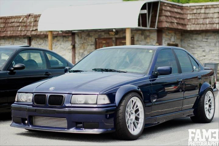 E36 Widebody Concave 18 Front 18x10 ET25 Square With