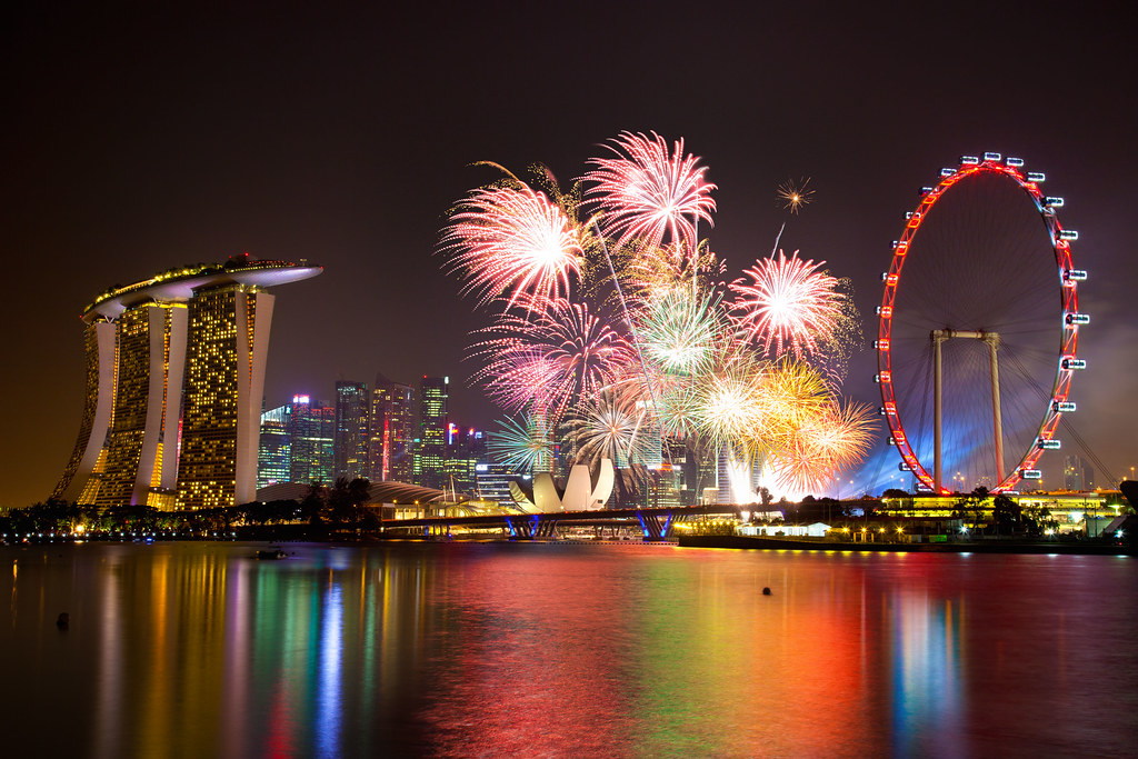Singapore NDP Fireworks 2012 Singapore NDP Fireworks