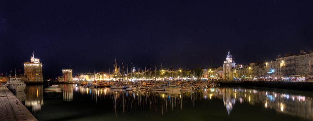 Vieux Port De La Rochelle La Rochelle Skyline Panorama