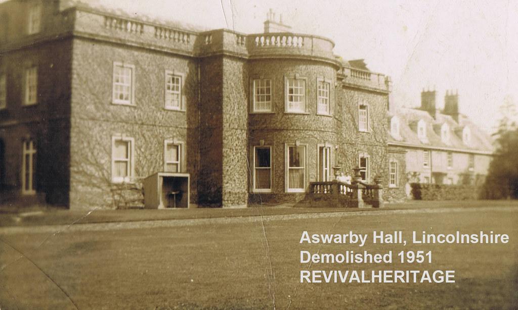 Aswarby Hall REVIVALHERITAGE  Aswarby Hall Lincolnshire
