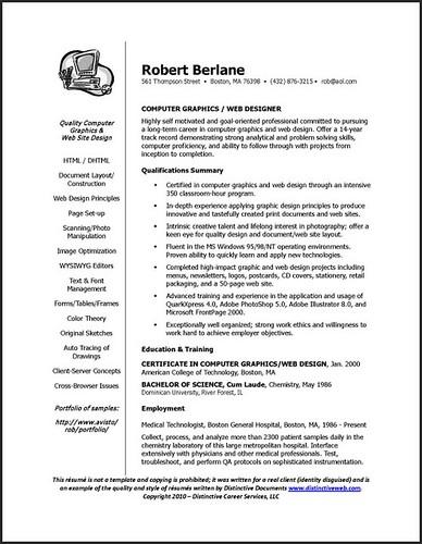 best career change resume samples