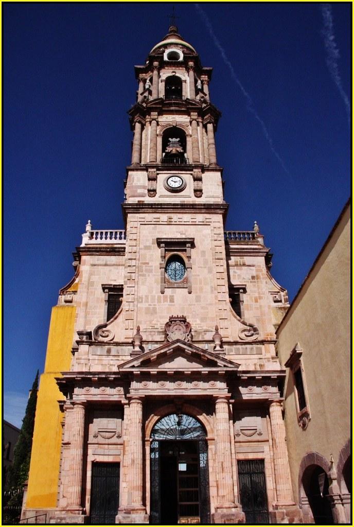 Templo del CarmenCelayaEstado de GuanajuatoMxico  Flickr