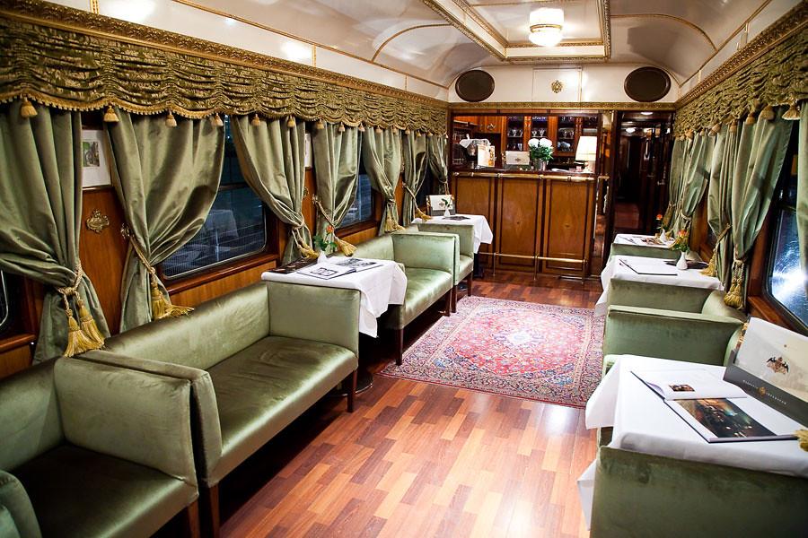 Majestic Imperator Luxury Train  Salon 1  As you