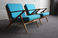 Brilliant Danish Mid Century Modern Poul Jensen Z Chairs f ...