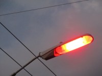 Low pressure sodium vapor streetlights in Springfield | Flickr