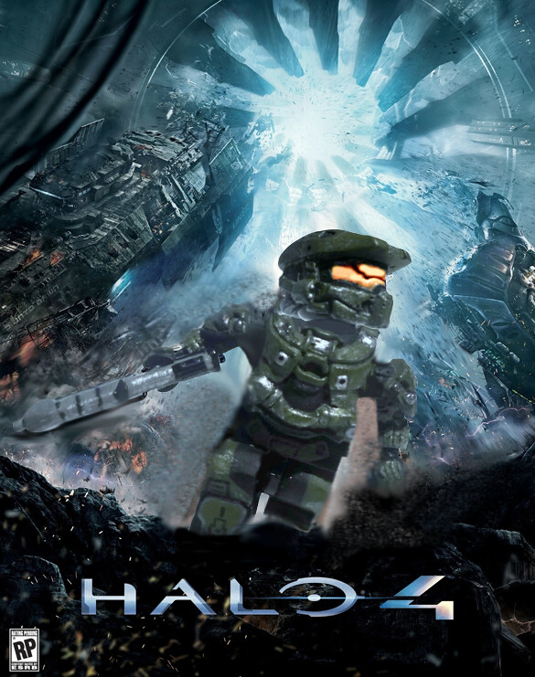 Gravity Falls Wallpaper Halo 4 Cover Art In Lego Yesterday The Developers Of