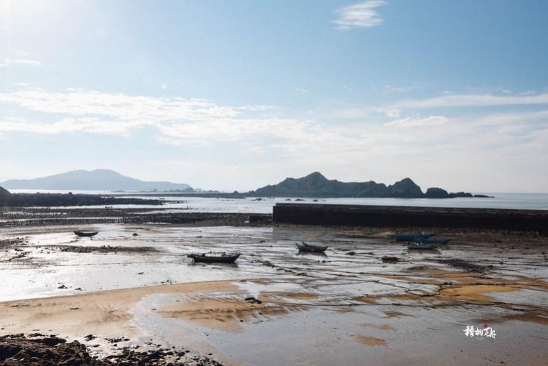 7|福正村前的沙灘在退潮時的裸露
