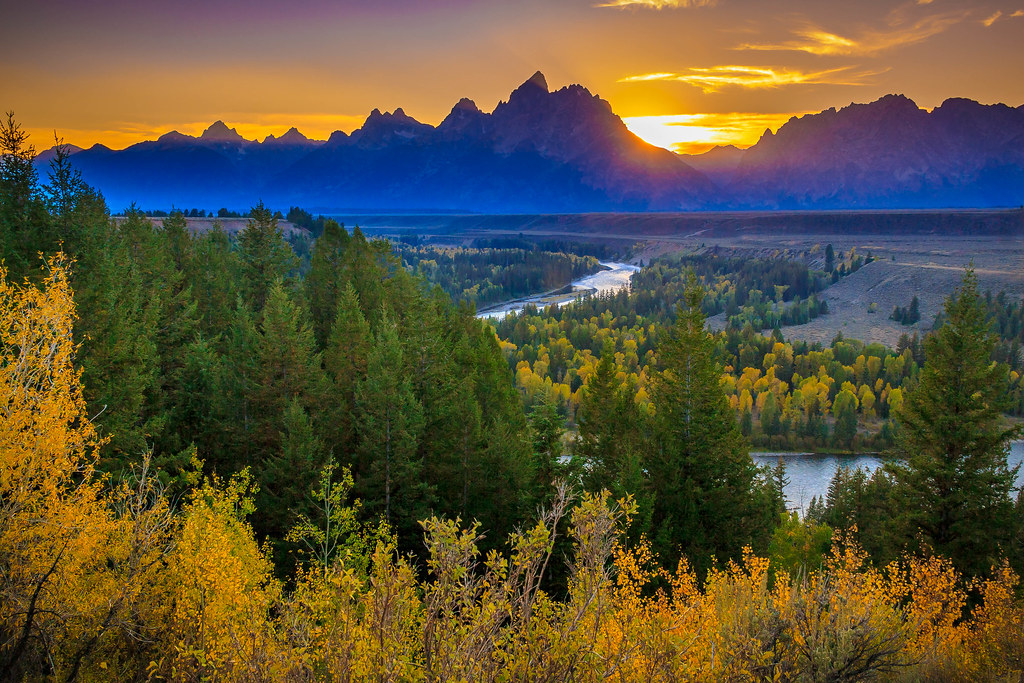 Fall Colors Mobile Wallpaper Snake River View Grand Tetons An Earnest Effort To