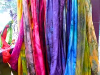 hand painted silk scarves | Colorado Renaissance Festival ...