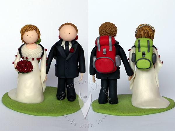 Bergsteiger Brautpaar  Tortenfiguren  Flickr