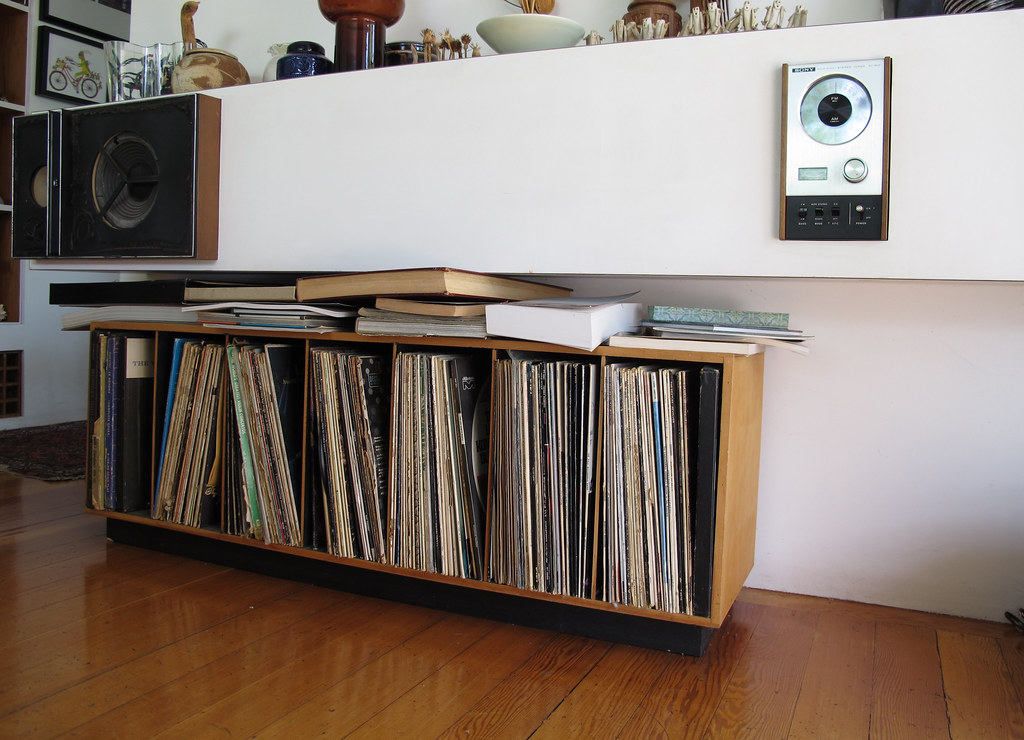 Stereo shelf storage for records  1960s70s style blog