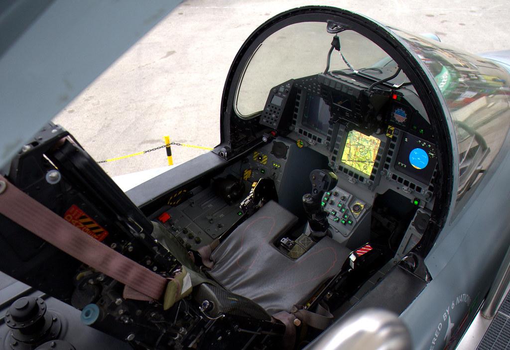 Eurofighter Cockpit Tribp Flickr