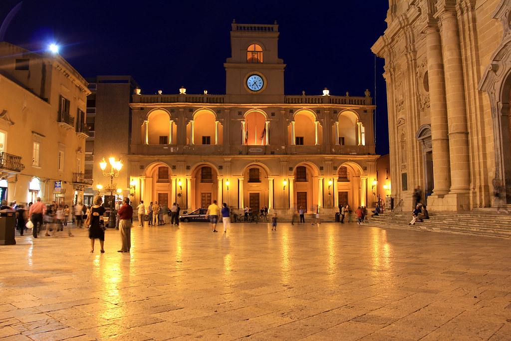 Marsala  Sicily  Piazza della Repubblica Gi Piazza
