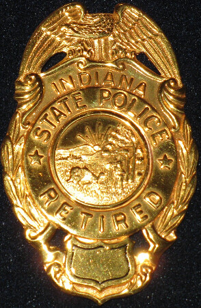 Indiana State Police  Retired badge  Flickr  Photo Sharing