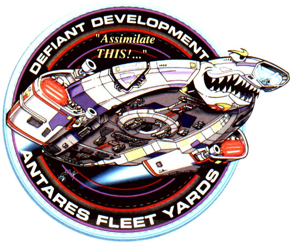 USS Defiant Emblem The USS Defiant NX 74205 Is A