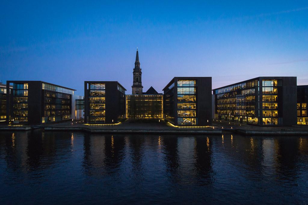 Copenhagen Waterfront Denmark Copenhagen Water Front