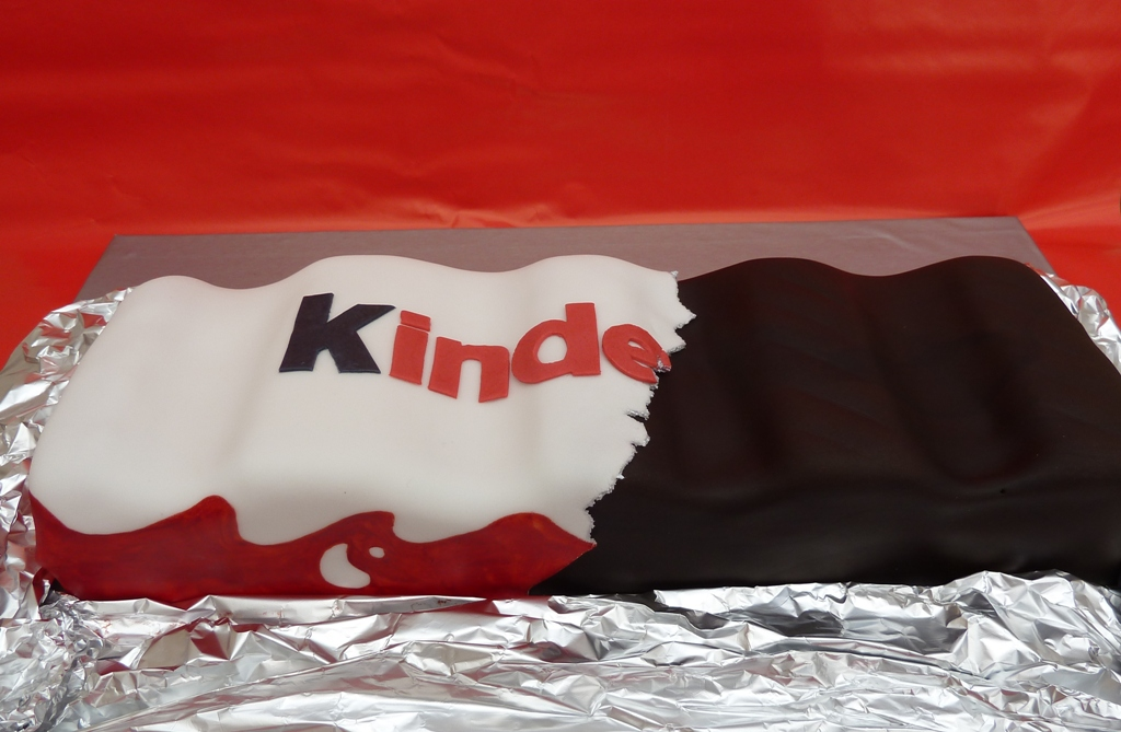 Kinder Chocolate Cake  Kinderriegel Torte  Kraulo  Flickr