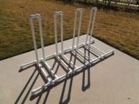 DIY Bike Rack, PVC Bike Rack, DIY Velogrip   DIY Bike Rack ...