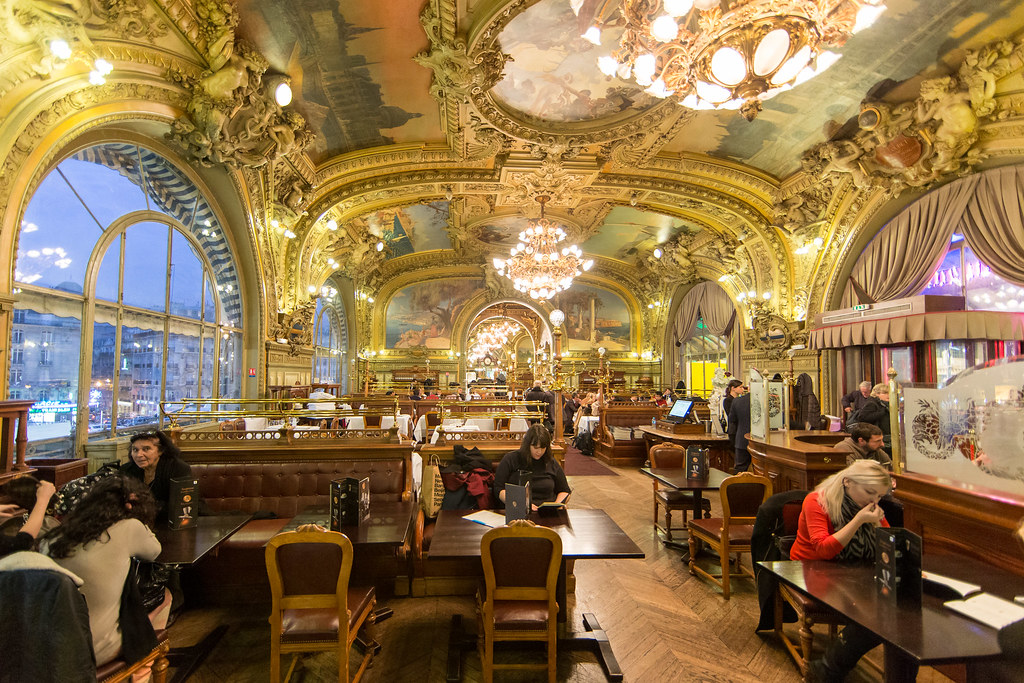 Le Train Bleu  When ever Im in Paris Im always drawn