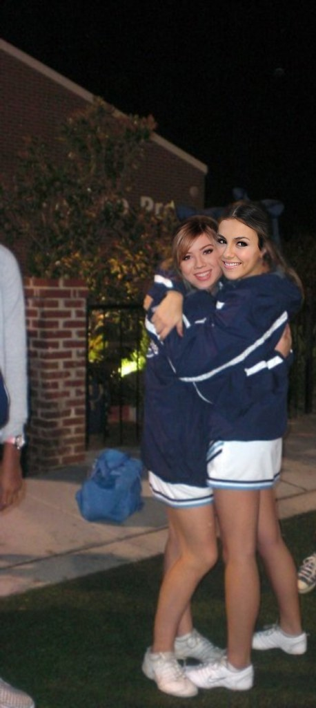 Victoria Justice and Jennette McCurdy as cheerleaders  Flickr