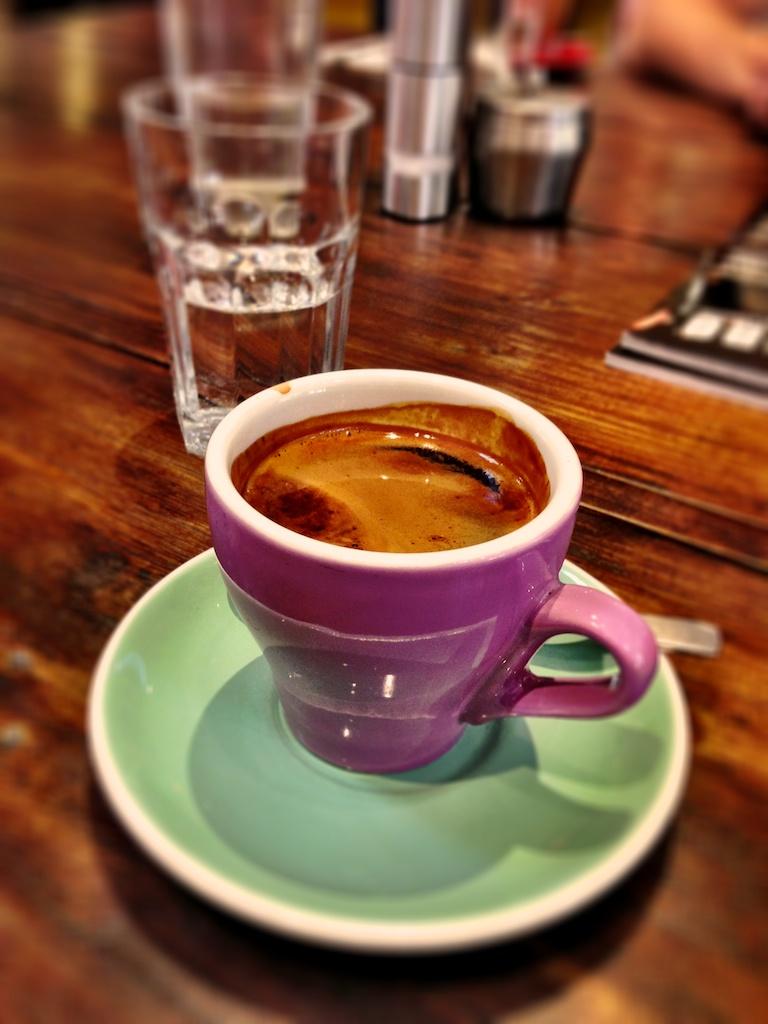 Long black coffee at Coffeehead  Long black coffee at