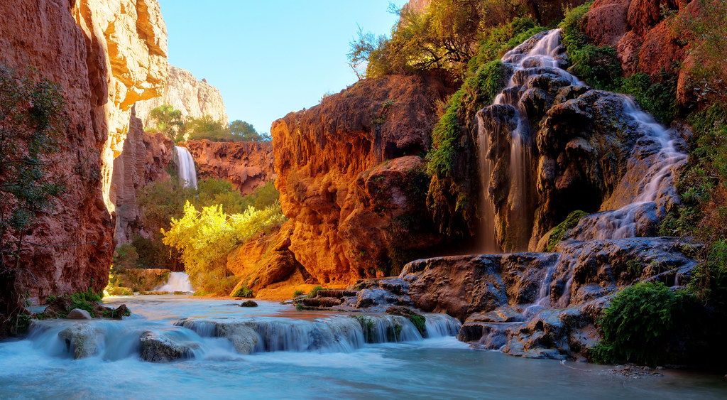 Below Mooney Falls  Heres another photo from the