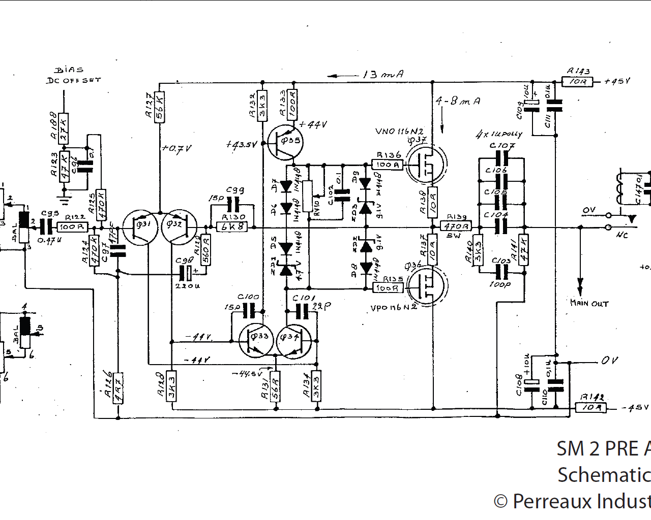 Perreaux Sm 2 Need Help With Output Transistors