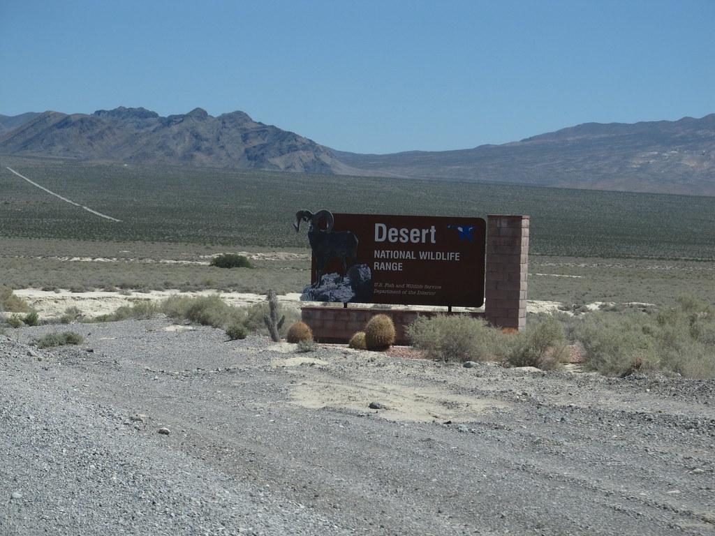 Welcome to Desert National Wildlife Refuge Near Las Vegas