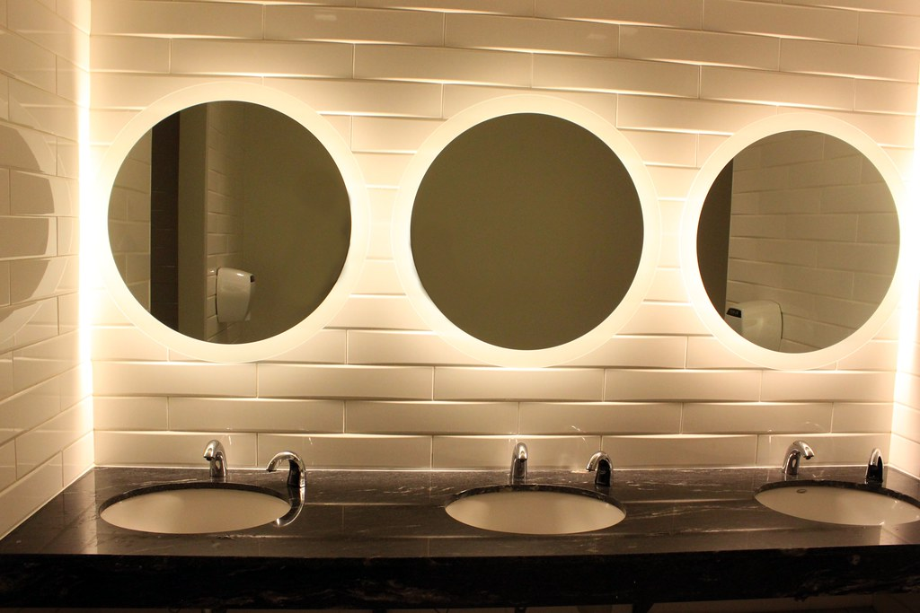 InterContinental Hotel Bathroom design  Toronto Metro