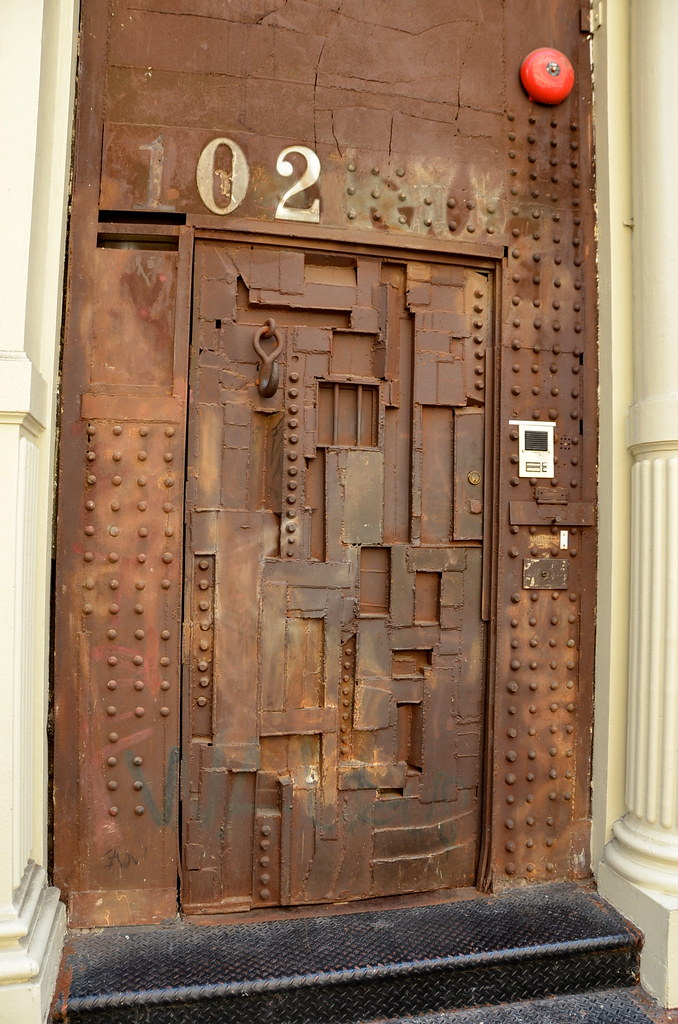 Steampunk Door Soho New York Ny Adam Fagen Flickr