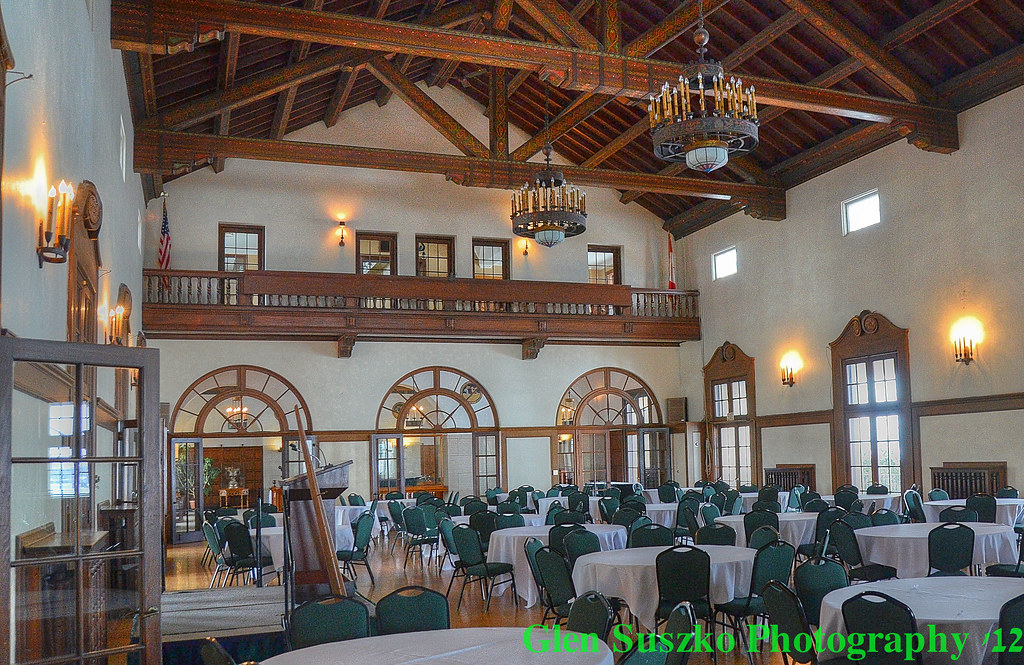 Detroit Yacht Club Main Dining Room The Historic