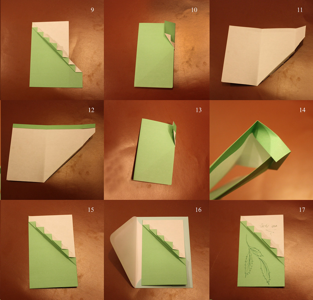 How To Fold Origami Invitation To Event Greeting Card S